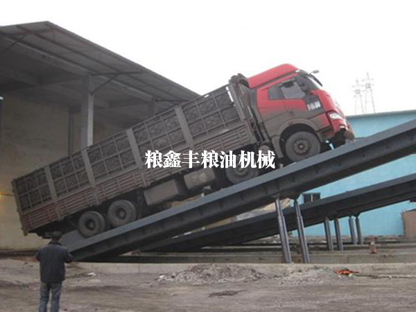 地坑式液压翻板机